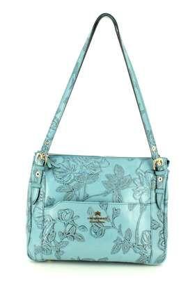 Cuoieria Fiorentina Handbags - Pale blue - B5027/72 CORSINI HOBO