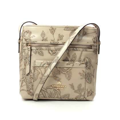 Cuoieria Fiorentina Handbags - Taupe - B5373/50 MARMO CROSS BOD