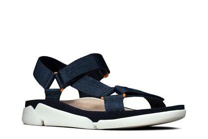 Clarks Comfortable Sandals - Navy - 478234D TRI SPORTY