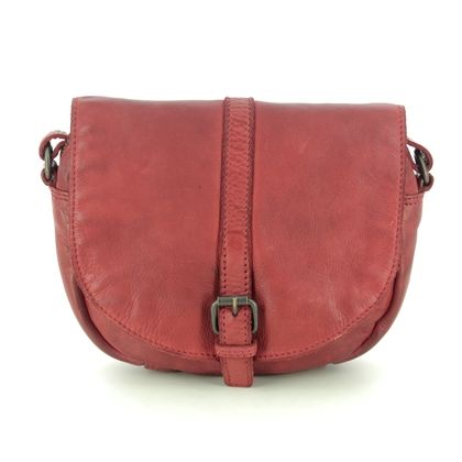 Gianni Conti Handbags - Red leather - 4203332/50 CETARA SADDLE