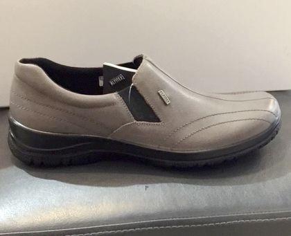 Alpina Comfort Slip On Shoes - Light Grey - 4257/2 EIKELEA TEX