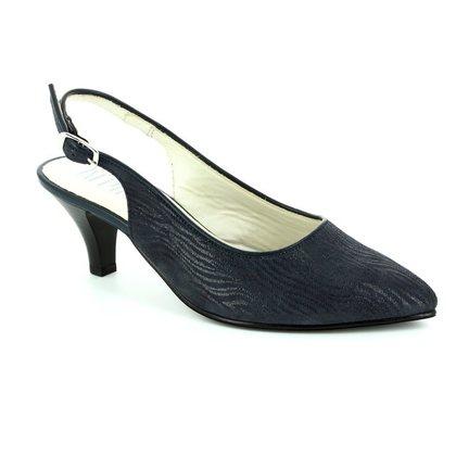 Alpina Heeled Shoes - Navy - 9L31/47 LATINA