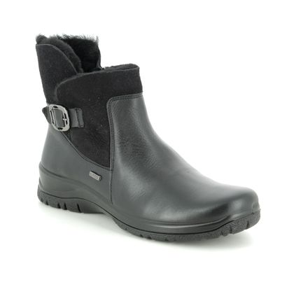 Alpina Boots - Ankle - Black leather - 4259/1 RONYFUR TEX
