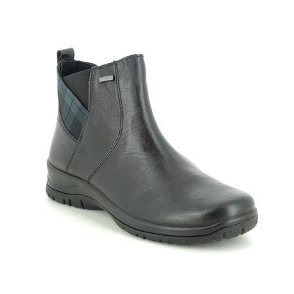 Alpina Ankle Boots - Black leather - 4265/12 RONYTAR 05 TEX