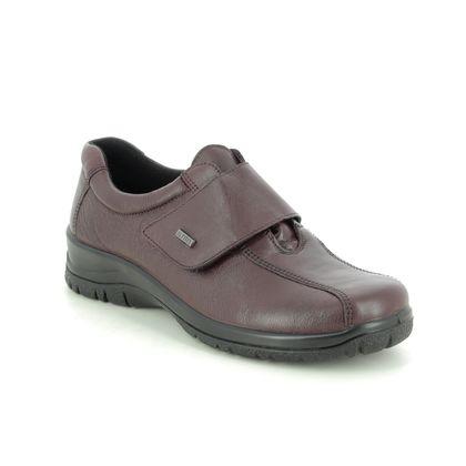 Alpina Comfort Slip On Shoes - Wine leather - 4230/7 RONYVEL 05 TEX