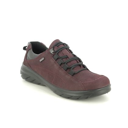 Alpina Comfort Lacing Shoes - Red leather - 0R82/2 ROYAL G TEX