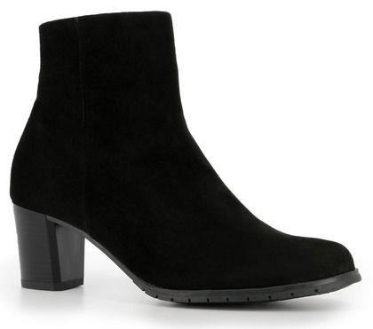 Alpina Heeled Boots - Black Suede - 7M58/4 SINDI  G