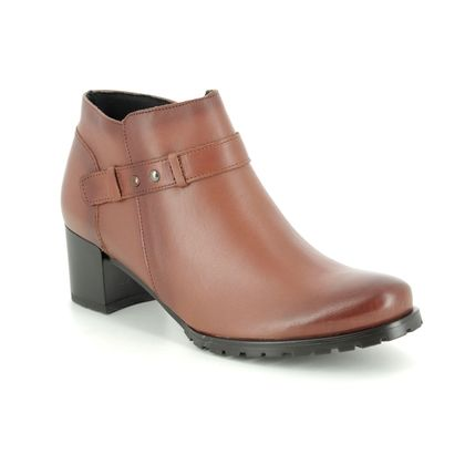 Alpina Shoe Boots - Tan Leather  - 7L44/3 VENDY