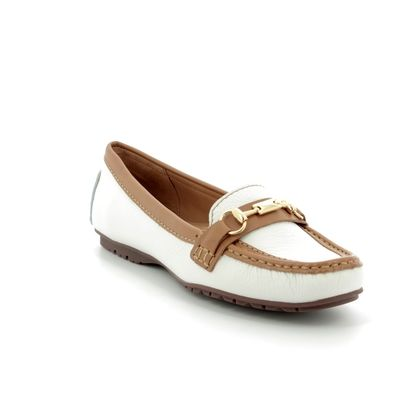 Begg Shoes Loafers and Moccasins - White nubuck - 25678/65 ANTONE