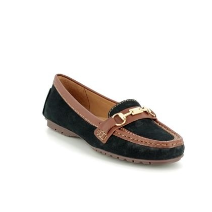 Begg Shoes Loafers and Moccasins - Navy Tan - 25678/75 ANTONE