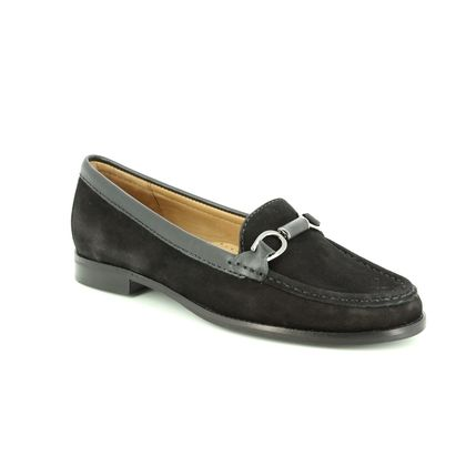 Begg Shoes Loafers and Moccasins - Black nubuck - 25846/30 DALTRO CLICK