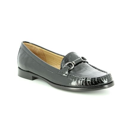 Begg Shoes Loafers and Moccasins - Black patent - 25846/40 DALTRO CLICK
