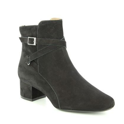 Begg Shoes Fashion Ankle Boots - Black nubuck - 11204/30 ECLIPSED