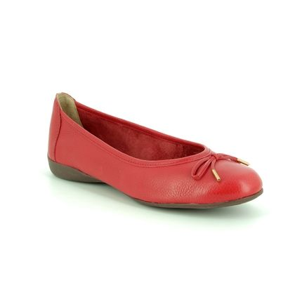 Begg Shoes Pumps - Red leather - M6536/80 GAMBI