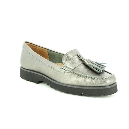 Begg Shoes Loafers and Moccasins - Pewter - 16628/20 PORSCHE METALIC