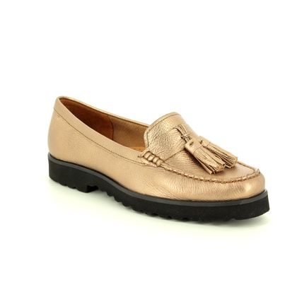 Begg Shoes Loafers and Moccasins - ROSE  - 16628/80 PORSCHE METALIC