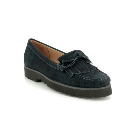 Begg Shoes Loafers and Moccasins - Navy Nubuck - 16639/70 PORSCHEBOW