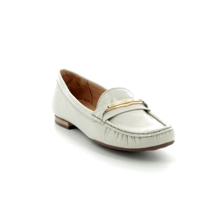 Begg Shoes Loafers and Moccasins - Light grey patent - 25761/01 SUNFLOWBAR