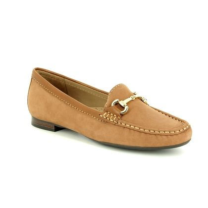 Begg Shoes Loafers and Moccasins - Tan Nubuck - 25836/11 SUNFLOWER