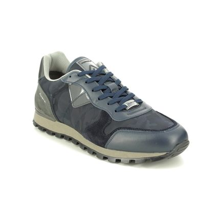Ambitious Trainers - Navy leather - 8061T434AM KENNY