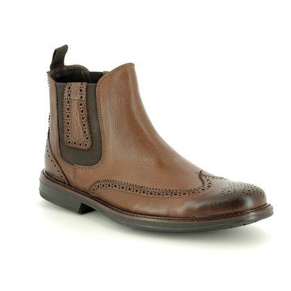 Anatomic Chelsea Boots - Dark brown - 878753/20 JONAS
