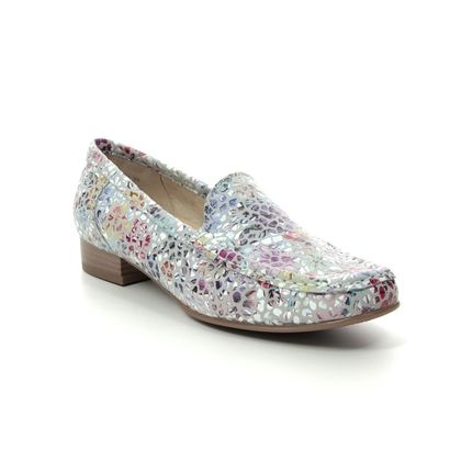 Ara Loafers and Moccasins - Grey Floral - 30137/76 ATLANTA 01