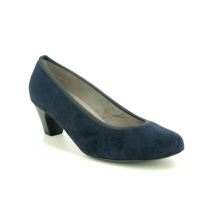 Ara Court Shoes - Navy - 54220/74 AUCKLAND G FIT