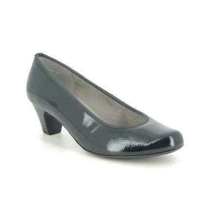 Ara Court Shoes - Navy patent - 54220/90 AUCKLAND G FIT