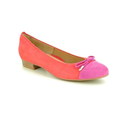 Ara Pumps - Coral - 33760/30 BARI BOW