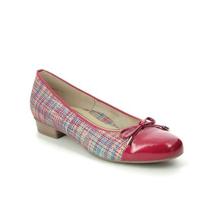 Ara Pumps - Red multi - 43721/93 BARI CAP