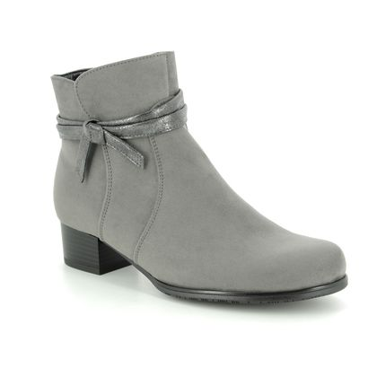 Ara Fashion Ankle Boots - Grey - 63654/65 CATABOW WIDE FIT