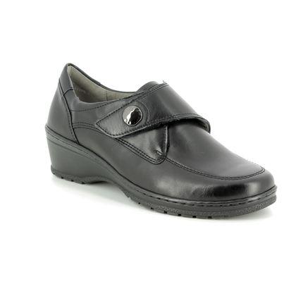 Ara Comfort Slip On Shoes - Black - 17375/71 CREMONA VEL WI