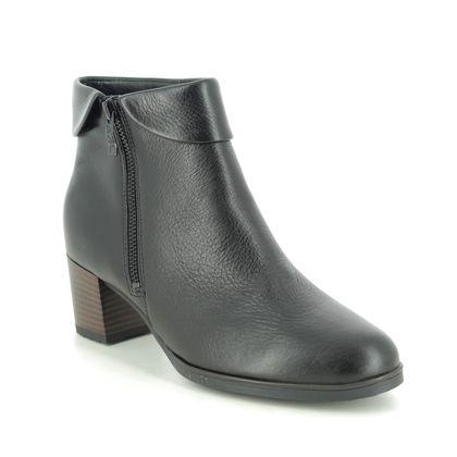 Ara Boots - Ankle - Black leather - 16913/66 FLORENZ 05