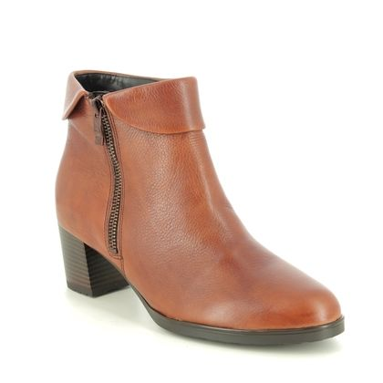 Ara Boots - Ankle - Tan Leather - 16913/67 FLORENZ 05