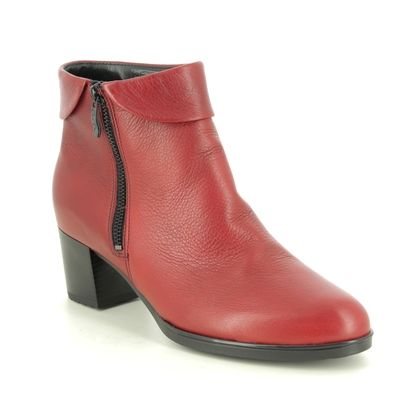 Ara Ankle Boots - Red leather - 16913/68 FLORENZ 05