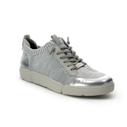 Ara Trainers - Silver - 14412/10 FUSION4 HIGH