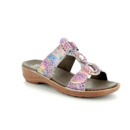 Ara Slide Sandals - Multi Coloured - 27273/51 HAWAII 81
