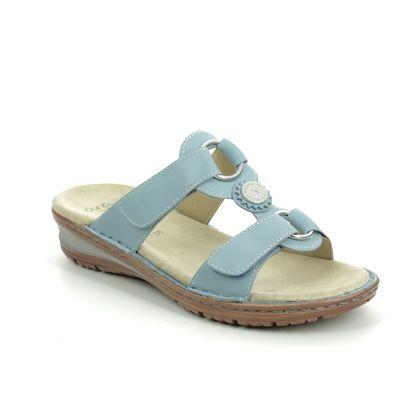 Ara Slide Sandals - Pale blue - 27232/77 HAWAII KOREDIS