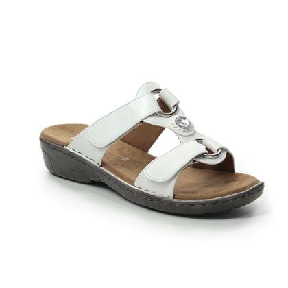 Ara Slide Sandals - White - 57268/96 KOREGEM