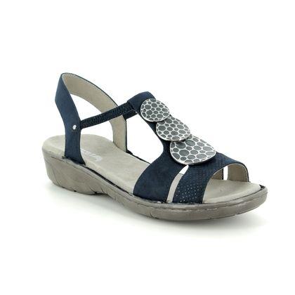 Ara Comfortable Sandals - Navy - 57287/72 KOREGI 91
