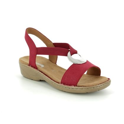 Ara Comfortable Sandals - Red - 57264/86 KORELDA 91