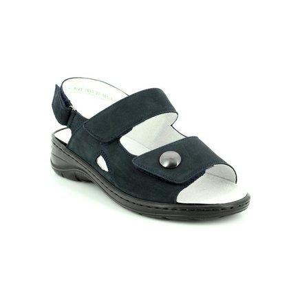 Ara Comfortable Sandals - Navy - 56562/06 KORFU