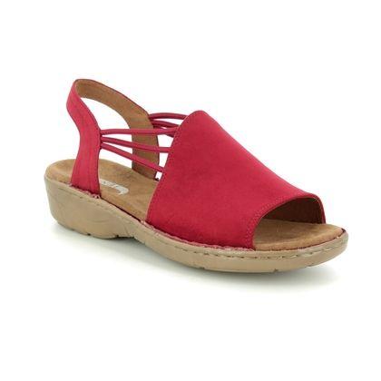 Ara Comfortable Sandals - Red - 57283/91 KORSIKA 91