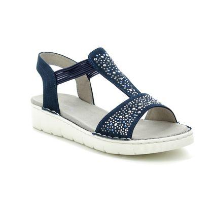 Ara Comfortable Sandals - Navy - 57203/02 KORSIKA SPORT