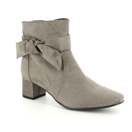 Ara Fashion Ankle Boots - Taupe - 61613/66 MAYENNE