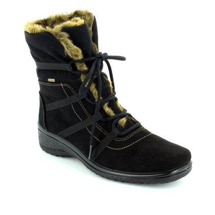 Ara Ankle Boots - Black - 48523/06 Munich Boot Gore-tex