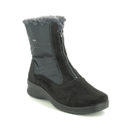 Ara Boots - Ankle - Black - 48530/05 MUNICH ZIP GORE