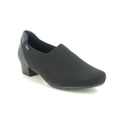 Ara Court Shoes - Black - 37620/01 NANCY GORE TEX