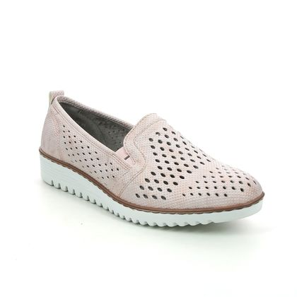 Ara Comfort Slip On Shoes - Pale pink - 50076/88 PORTLAND 01