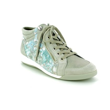 Ara Fashion Ankle Boots - Silver multi - 34410/07 ROM HIGHTOP